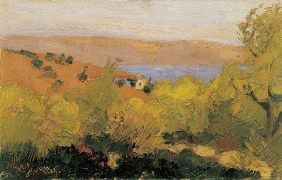 Landscape, Sounion - Nikolaos Lytras