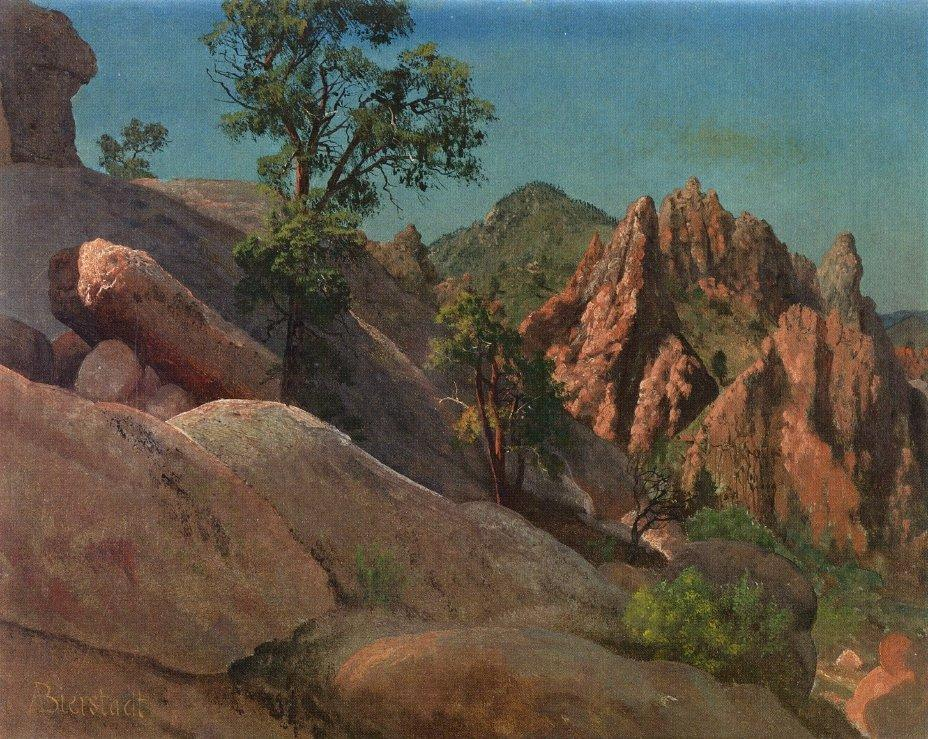 Landscape Study Owens Valley, California - Albert Bierstadt