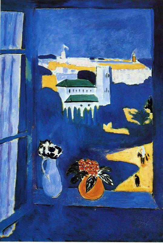 Landscape viewed from a Window  - Henri Matisse