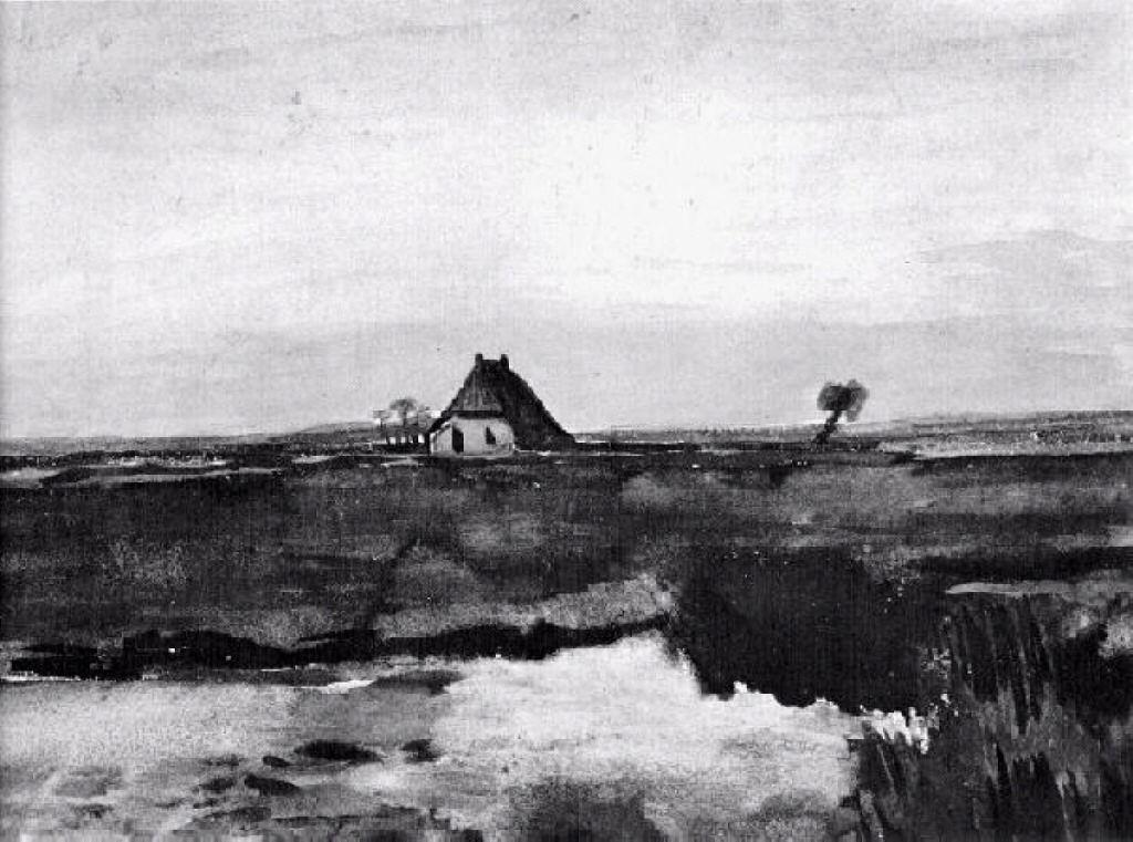 Landscape with a Farm - Vincent van Gogh