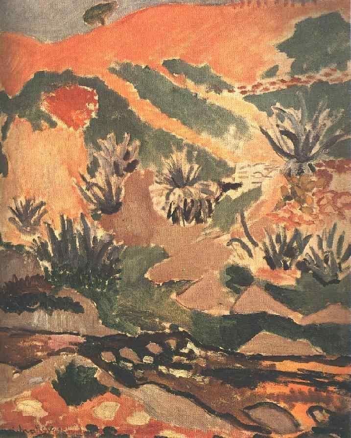 Landscape with Brook (Brook with Aloes) - Henri Matisse