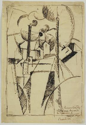 Landscape with Chimneys - Albert Gleizes