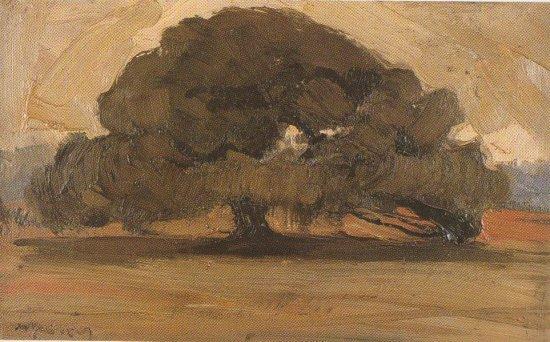Landscape with Pine tree - Nikolaos Lytras