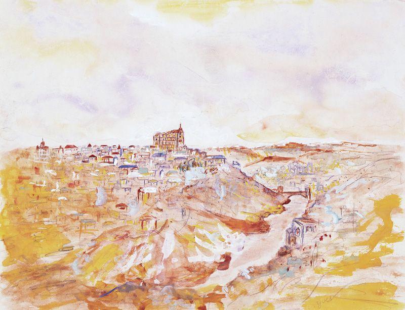 Landscape - Yves Klein