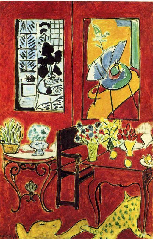 Large Red Interior - Henri Matisse