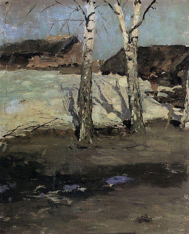 Last Snow  - Konstantin Korovin