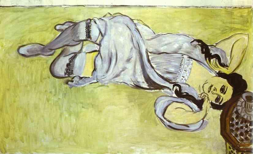 Laurette with a Coffee Cup - Henri Matisse