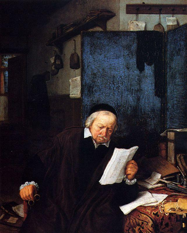 Lawyer in His Study - Adriaen van Ostade