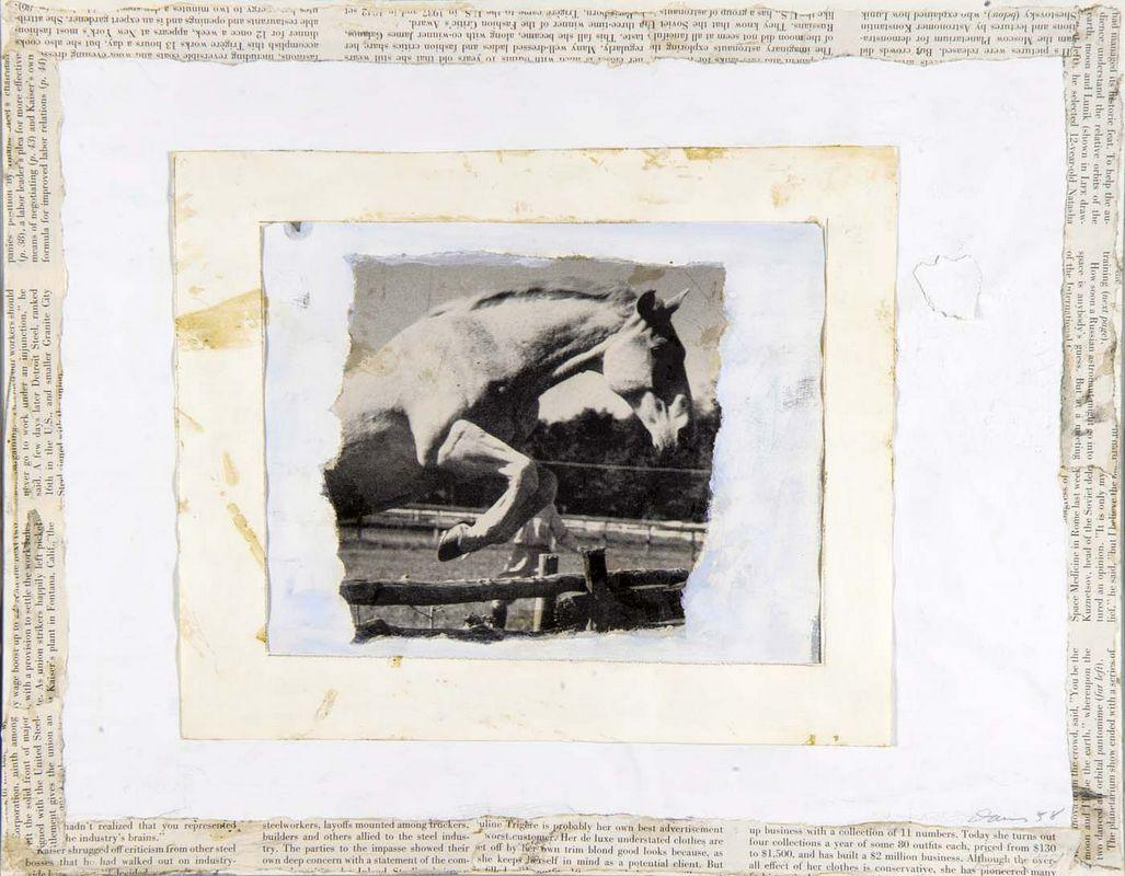 Leaping Horse - Gene Davis