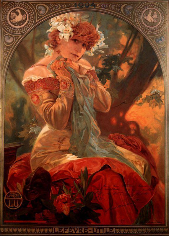 Lefevre Utile - Alphonse Mucha