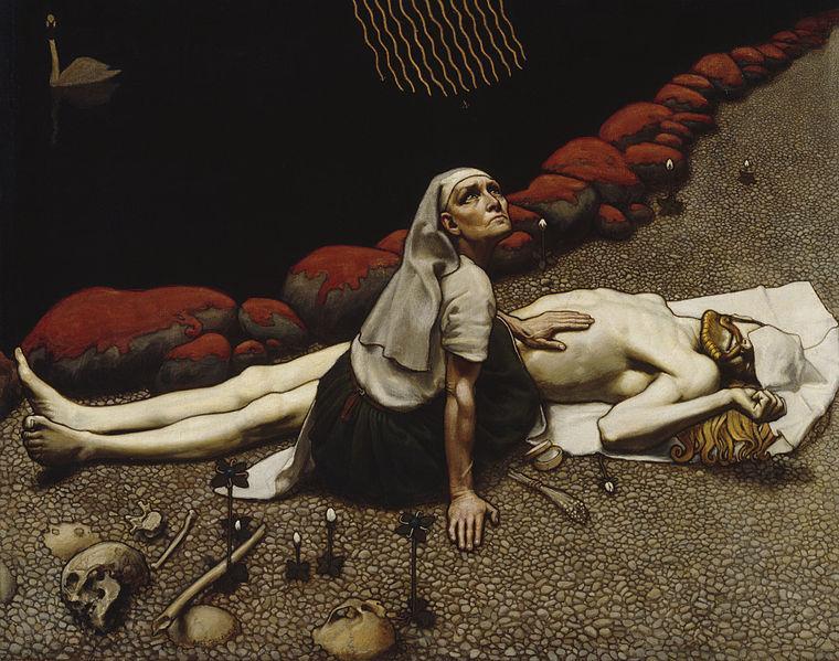Lemminkainen's Mother - Akseli Gallen-Kallela