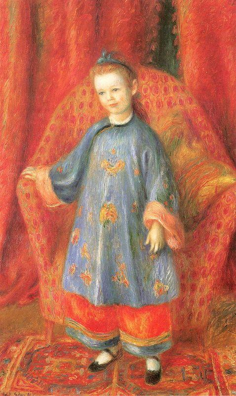 Lenna, the Artist's Daughter, in a Chinese Costume - William James Glackens