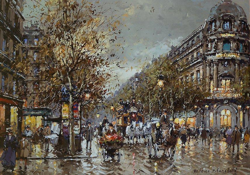Les Grand Boulevards, Theatre du Vaudeville - Antoine Blanchard