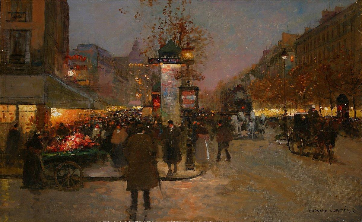 Les Grands Boulevards - Antoine Blanchard