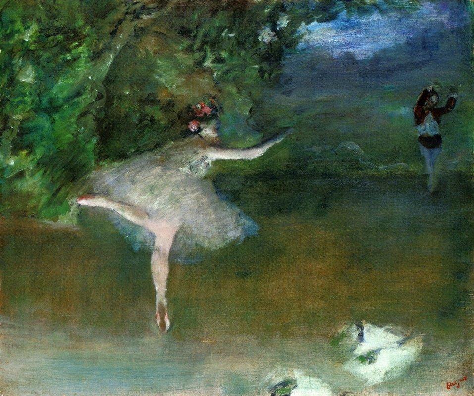 Les Pointes - Edgar Degas