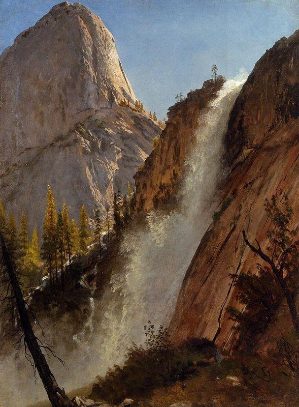 Liberty Cam, Yosemite - Albert Bierstadt