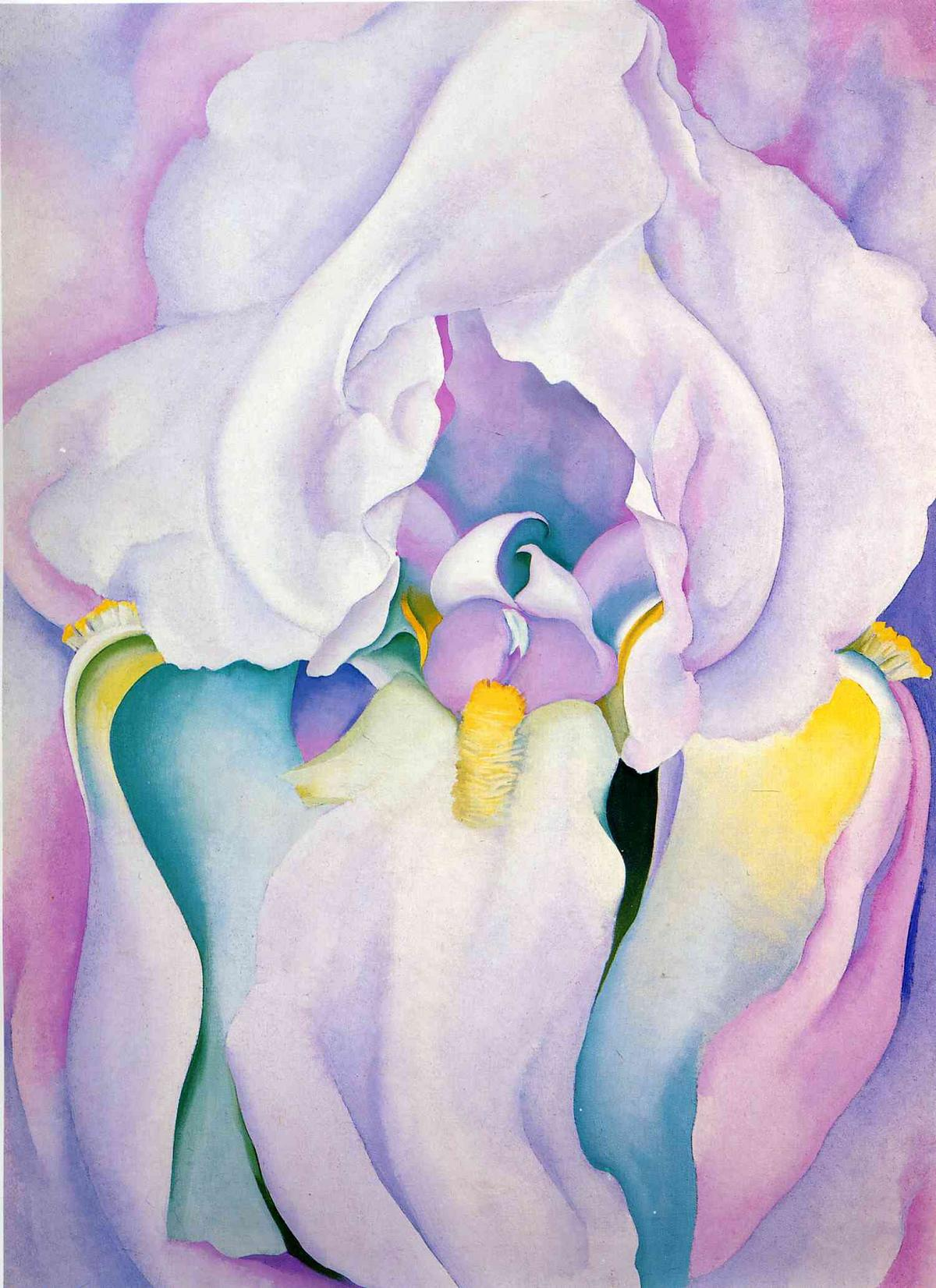Light of Iris - Georgia O'Keeffe