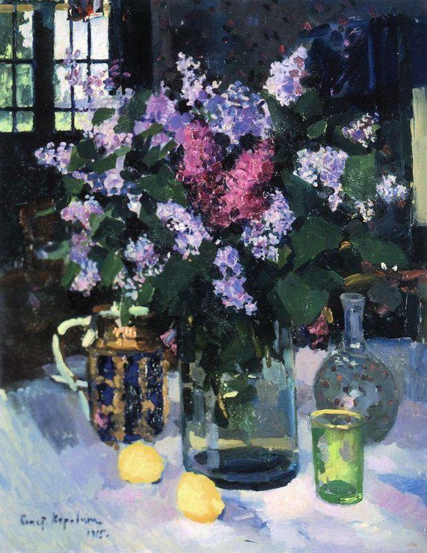 Lilacs - Konstantin Korovin
