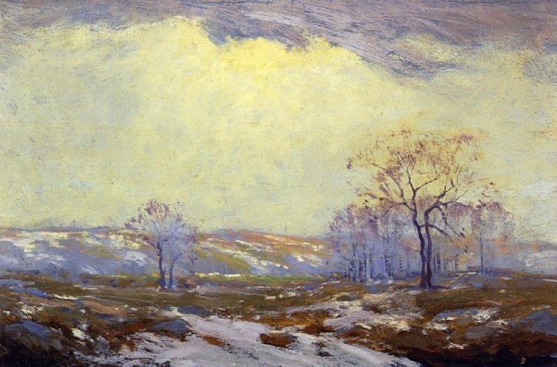 Lingering Snow - Robert Julian Onderdonk