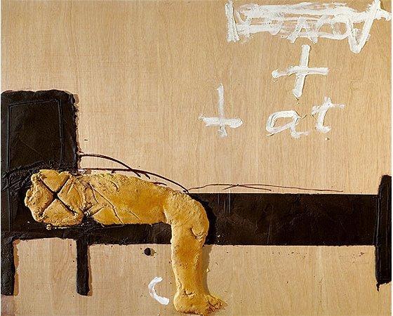 Lit and bed  - Antoni Tapies