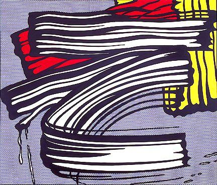 Little big painting - Roy Lichtenstein