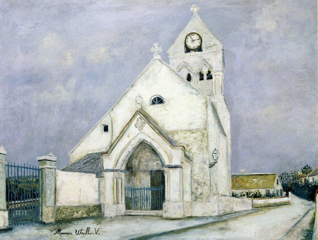 Little Communicant, Church of Mourning - Maurice Utrillo