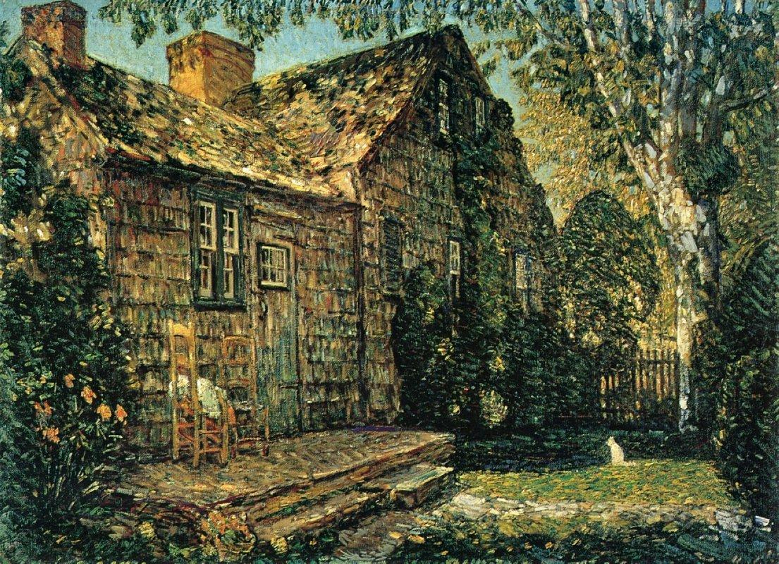Little Old Cottage, Egypt Lane, East Hampton - Childe Hassam