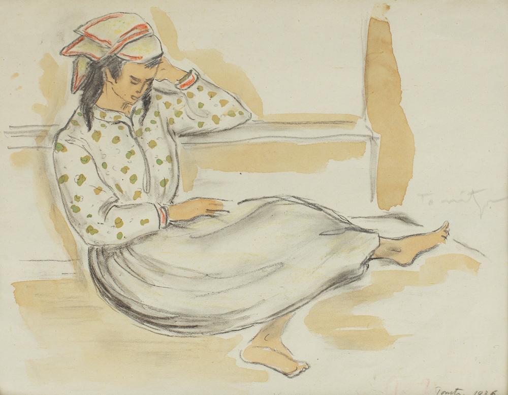 Little Tatar Girl - Nicolae Tonitza