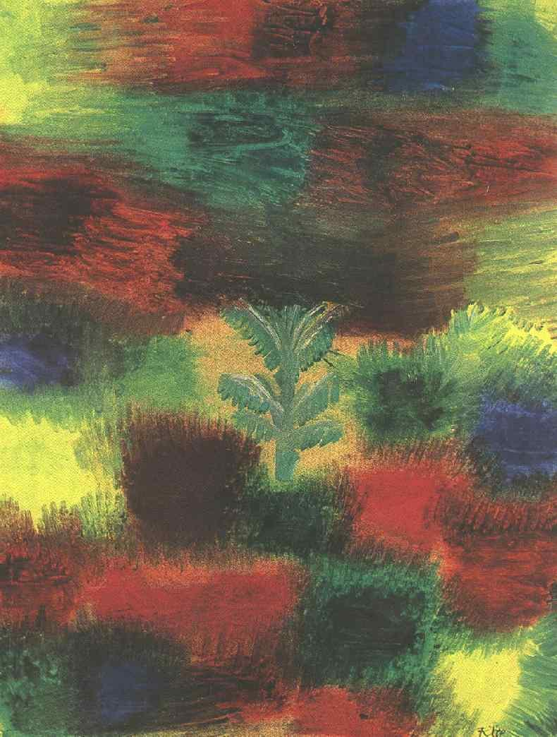 Little Tree Amid Shrubbery - Paul Klee
