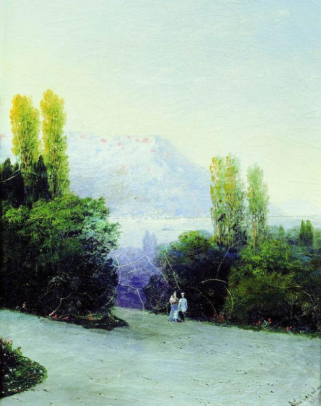 Livadia - Ivan Aivazovsky