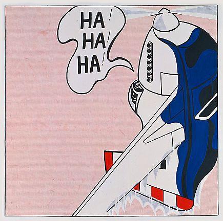 Live ammo (Ha! Ha! Ha!)  - Roy Lichtenstein