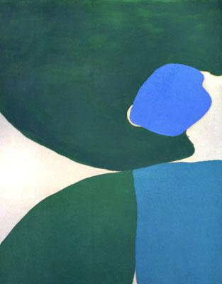 Lone Blue - Friedel Dzubas