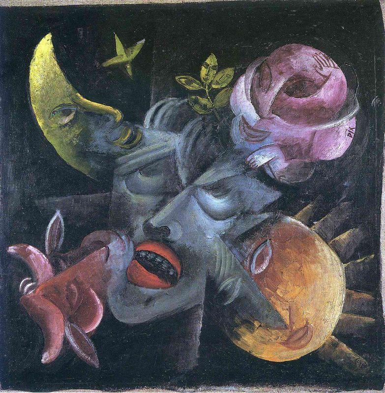 Longing, Self-Portrait - Otto Dix