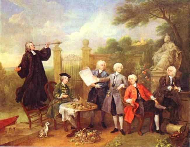 Lord Hervey and His Friends  - William Hogarth