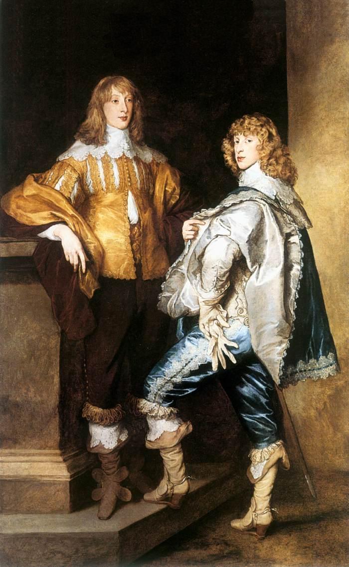 Lord John and Lord Bernard Stuart - Anthony van Dyck