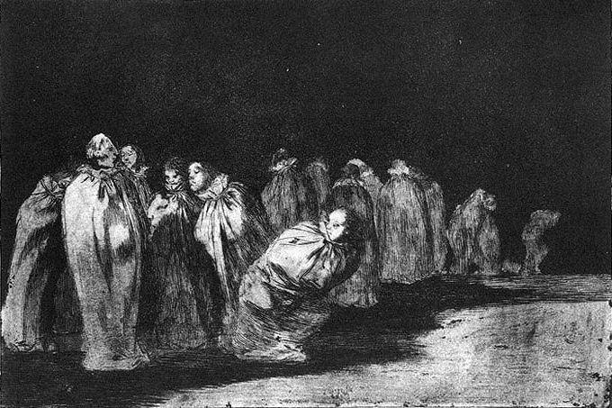 The bagged - Francisco Goya