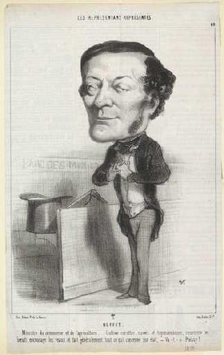 Louis-Joseph Buffet - Honore Daumier