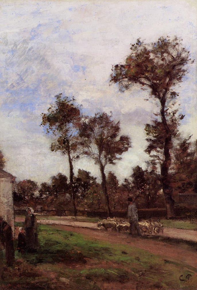 Louviciennes - Camille Pissarro