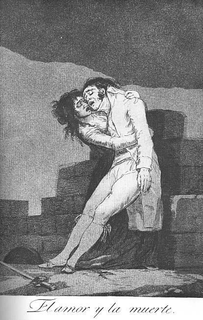 Love and Death - Francisco Goya
