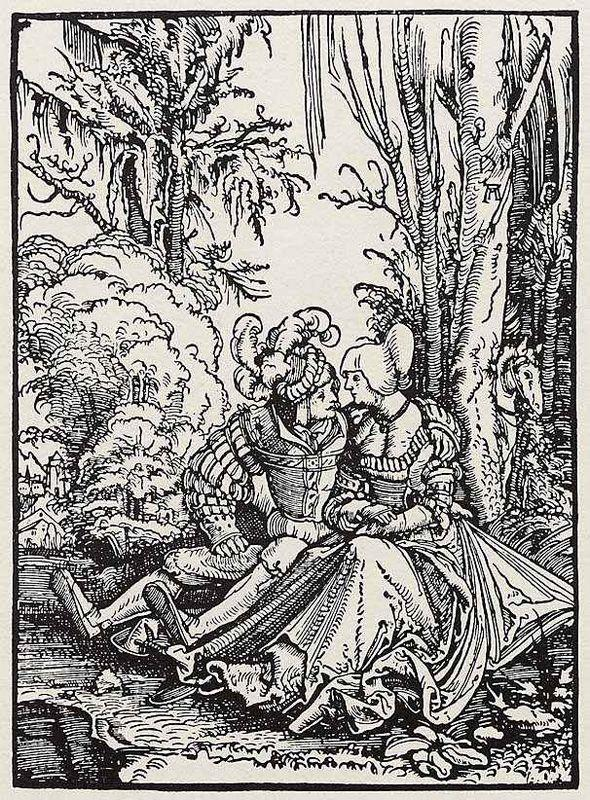 Lovers - Albrecht Altdorfer