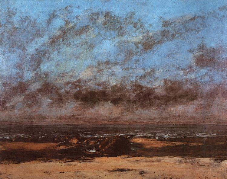 Low Tide  - Gustave Courbet