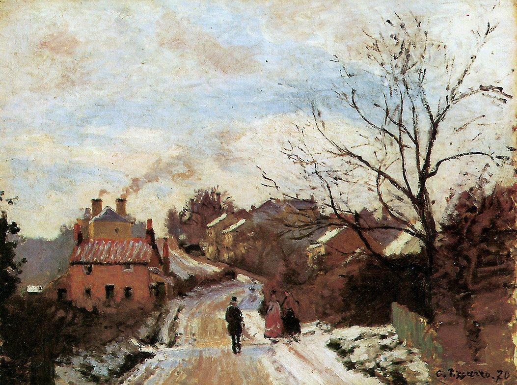 Lower Norwood - Camille Pissarro