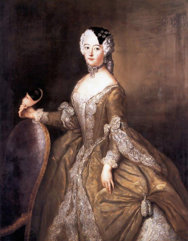 Luise Ulrike of Prussia, Queen of Sweden - Antoine Pesne