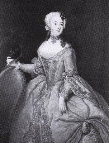 Luise Ulrike von Preu?en - Antoine Pesne