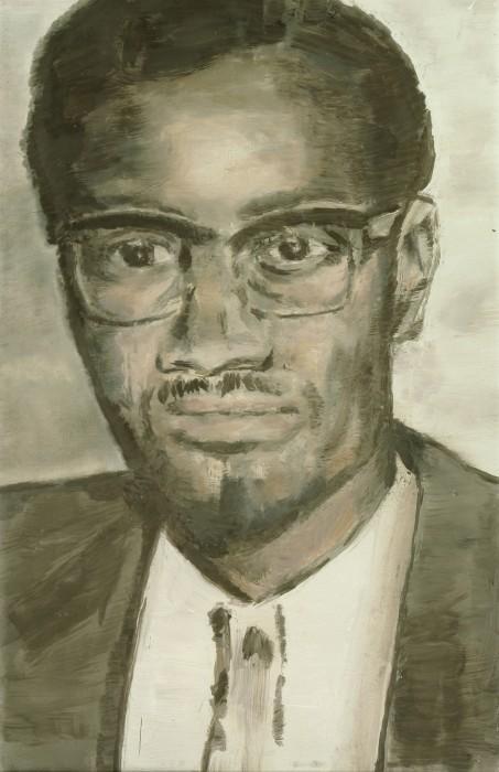 Lumumba - Luc Tuymans