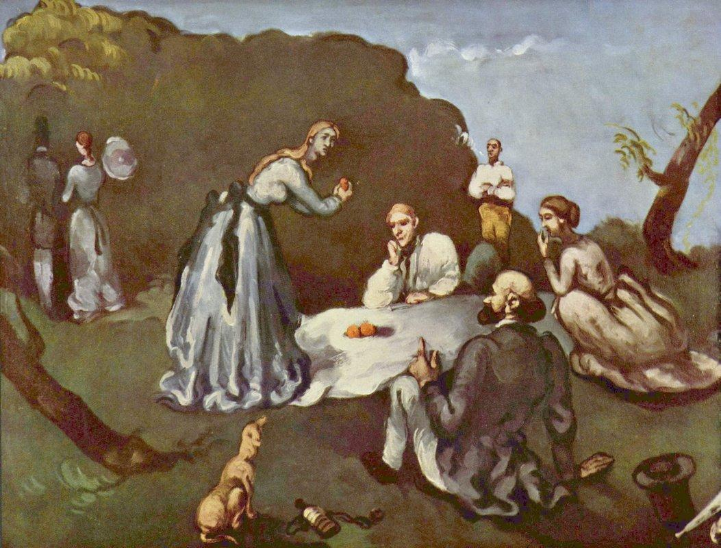 Luncheon on the Grass - Paul Cezanne