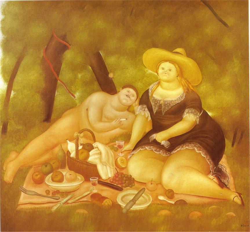 Luncheon on the Grass - Fernando Botero