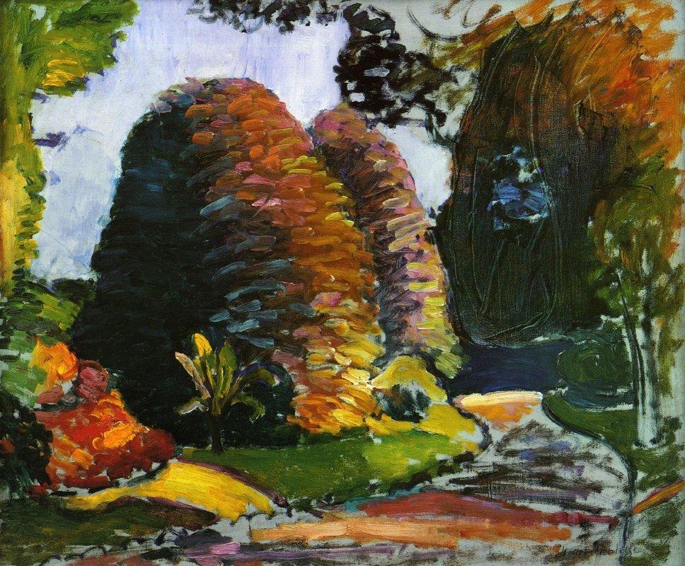 Luxembourg Gardens - Henri Matisse