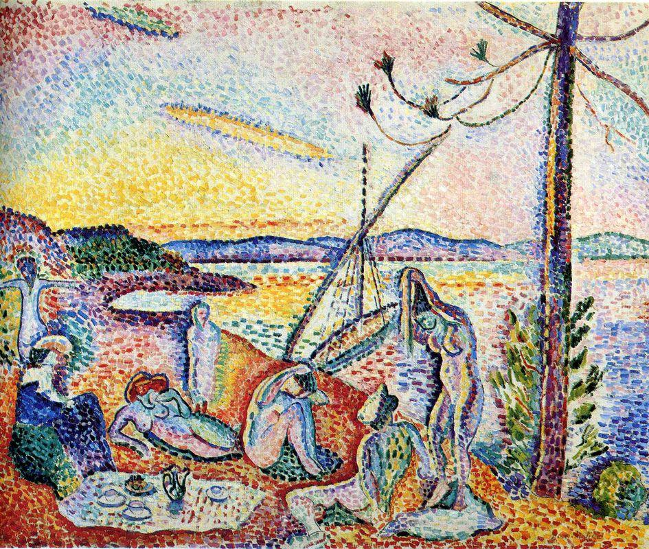 Luxury, Serenity and Pleasure   - Henri Matisse