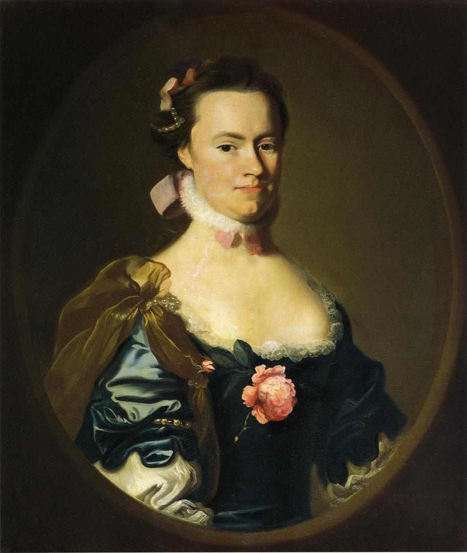 Lydia Lynde - John Singleton Copley